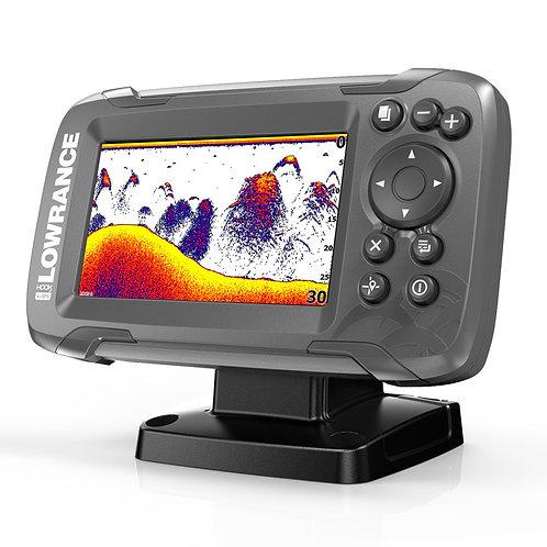 """HOOK²-4x: Sondeur GPS Couleur 4,3""""avec  sonde TA 200 Khz faisceau large"""