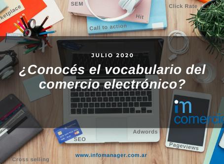 Glosario e-commerce: el vocabulario del comercio electrónico.
