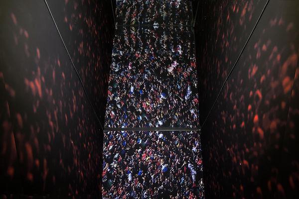 taddeo reinhardt exhibition at grey cube 113 central saint martins london