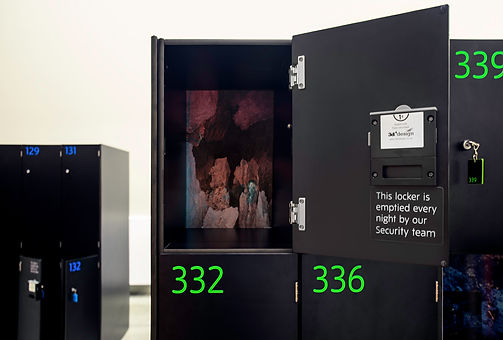 magic cave by maya rochat on show in the tate modern lockers curated by giulia civardi grey cube 113
