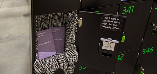 the plantation journal and maya rochat grey cube 113 exhibition in tate modern lockers curated by Giulia Civardi