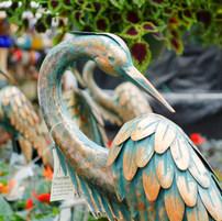 Great Blue Heron Statuary