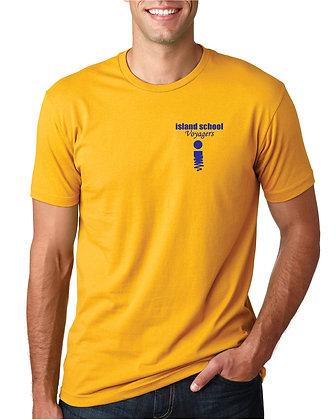 Island School Icon Gold Shirt - Unisex-  T-Shirt