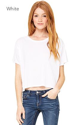 Bella Canvas Flowy Boxy T-shirt #8881