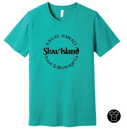 Slow Island Food & Beverage Co. T-shirt
