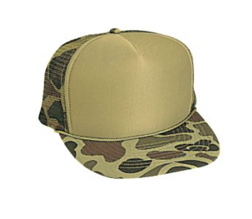 Otto Cap Camo Trucker Hat #49-158