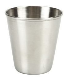 Stainless Steel Shot Glass 2.5 oz.