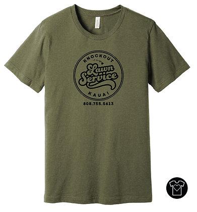 Kauai Knockout Lawn Service T-shirt