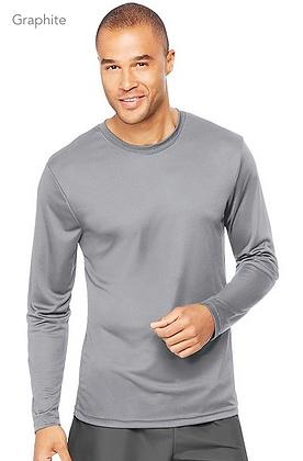 Hanes Men's Cool DRI Long Sleeve Performance T-Shirt #482