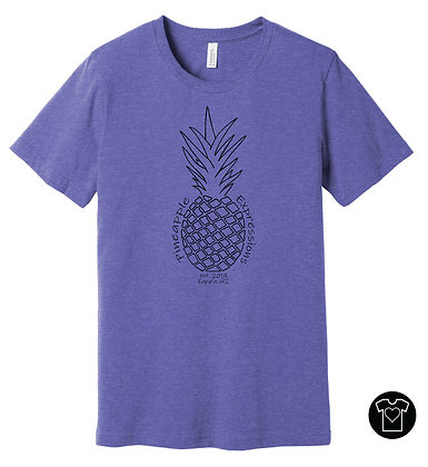 Pineapple Expressions T-shirt