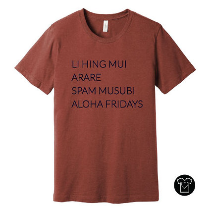 Aloha Fridays Event Designs T-shirt