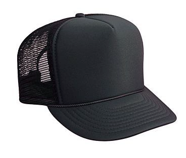 Otto Cap Solid Trucker Hat #39-165