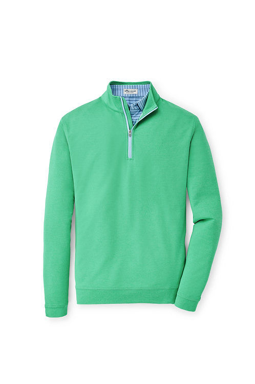 Peter Millar 1/4 Zip (Pesto)