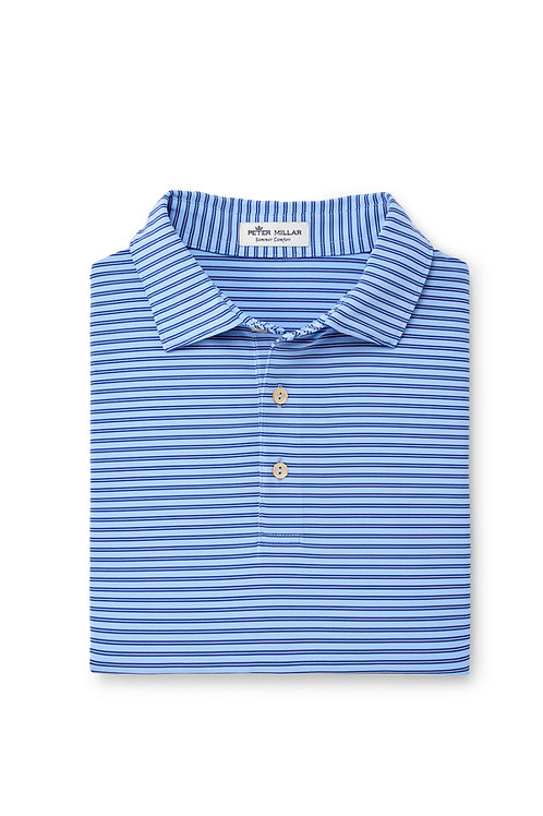 Peter MillarFancy Polo (Blue Stripe)