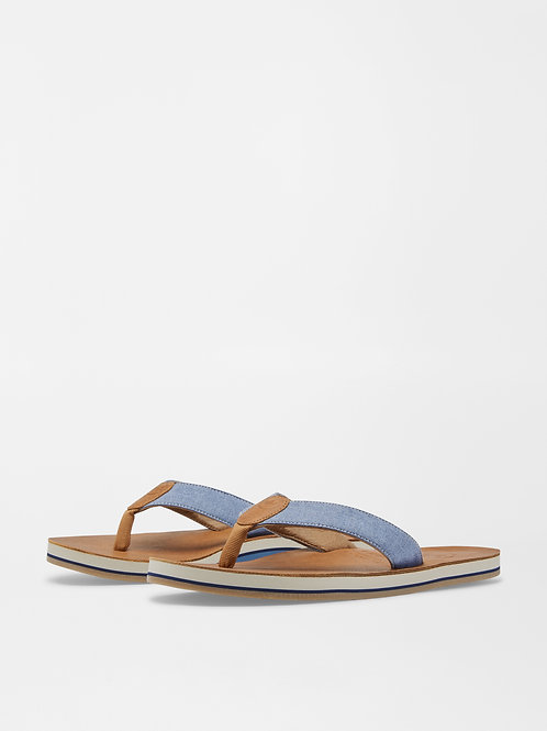 Peter Millar Flip Flops (Cognac)