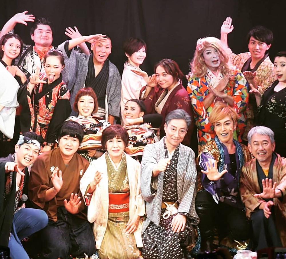 2019年8月1日(木)〜4日(日)大江戸ワハハ本舗・娯楽座本公演 「競艶雪之丞変化 ザ・グレイテスト歌舞伎女形」/終演いたしました
