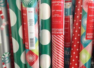 Gift Wrap Sale Winners