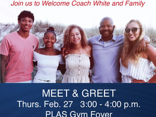 Meet and Greet for the New Athletic Director/Head Football Coach