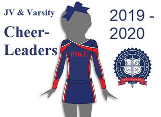 2019 - 2020 PLAS Cheerleaders