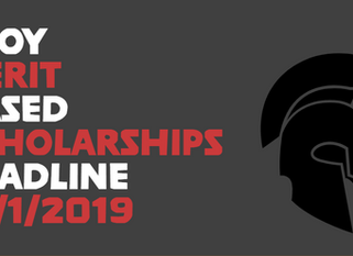TROY Merit Based Scholarship Deadline
