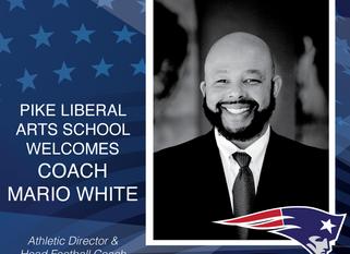 Welcome Coach Mario White to PLAS!