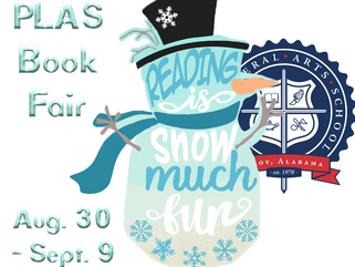 Scholastic Book Fair: Aug. 30 - Sept. 9