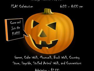 PLAS Fall Festival - October 30