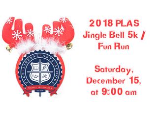 2018 PLAS Jingle Bell 5K / Fun Run