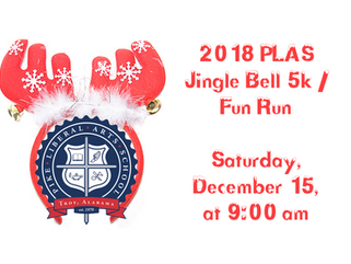 2018 PLAS Jingle Bell 5K / Fun Run