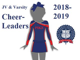 PIKE 2018-19 JV & Varsity Cheerleaders