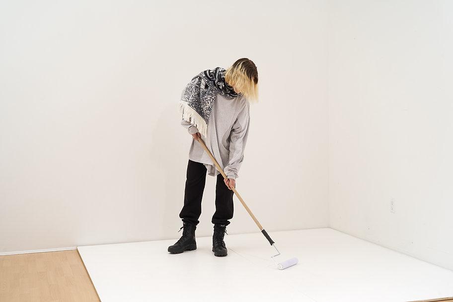 Yang Li Samizdat Black PVT Sweatshirt-10