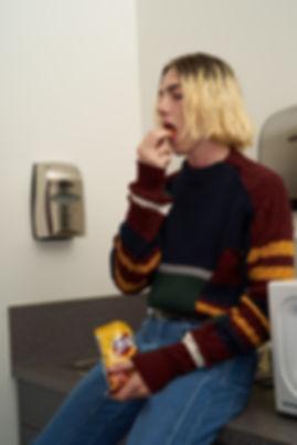 Yang Li Samizdat Black PVT Sweatshirt-18