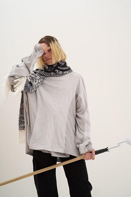 Yang Li Samizdat Black PVT Sweatshirt-11