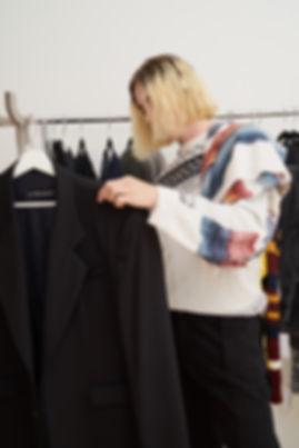 Yang Li Samizdat Black PVT Sweatshirt-6.