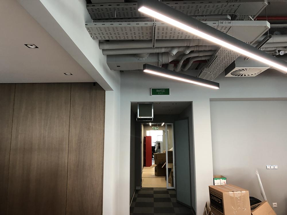 Открытые пространства в офисных центрах