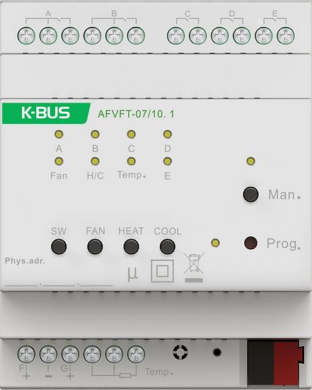 KNX Fan coil Controller, 0-10V