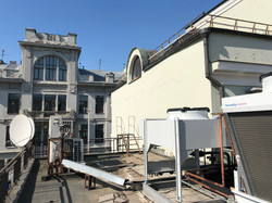 Холодомашина на крыше