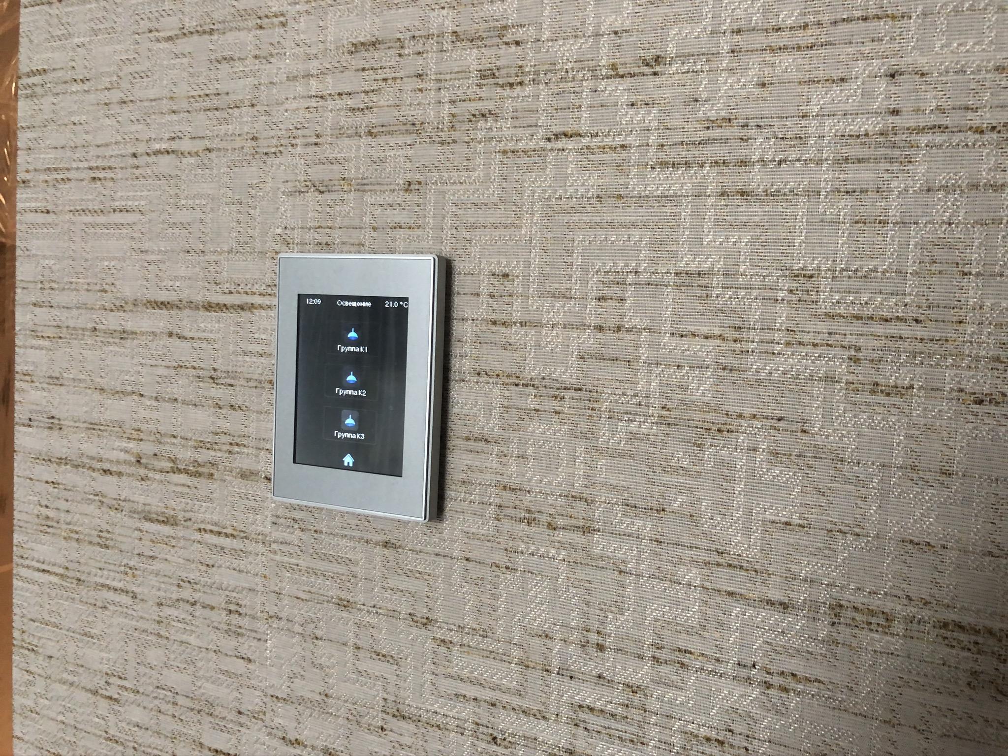 Сенсорная панель для умного дома