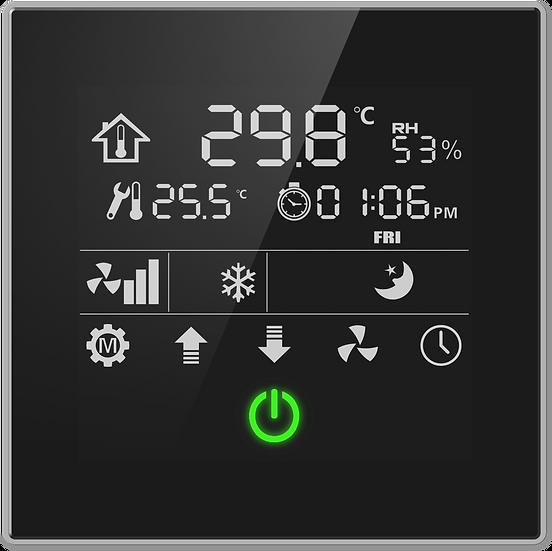 KNX Temperature Control Panel