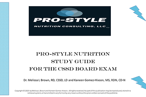 Study Guide for the CSSD Board Exam