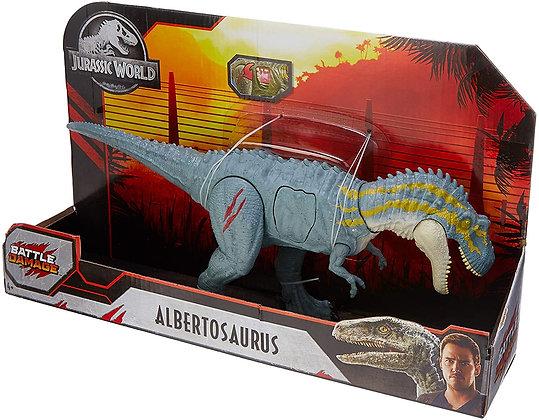 Jurassic World Dinosaurio Albertosaurus Battle Damage