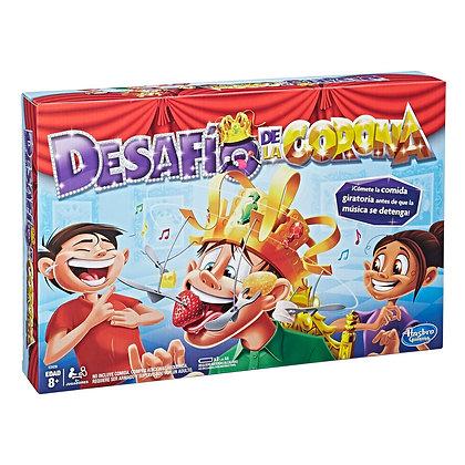 Juego De Mesa Desafio De La Corona Original Hasbro