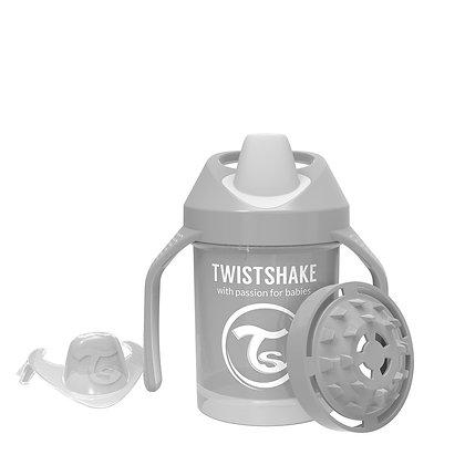 Vaso Entrenador 7oz 4m+ Twistshake Gris