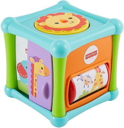Fisher Price Cubo Animalitos De Actividades Para Bebes 6m+
