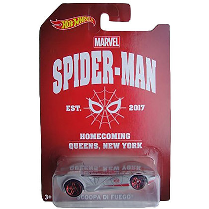 Auto Spiderman Scoopa Di Fuego Marvel