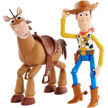 Woody Y Tiro Al Blanco Mattel