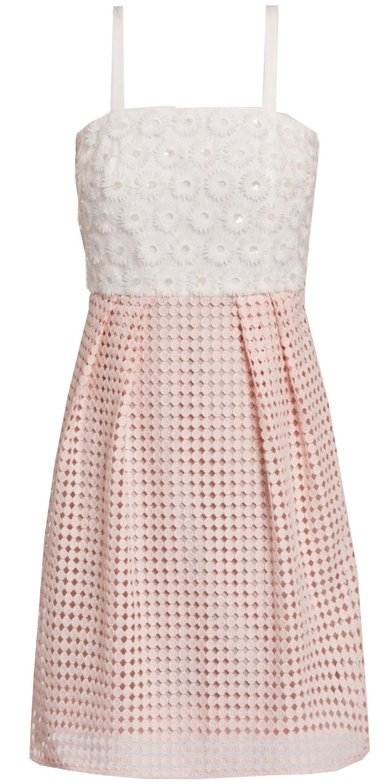 Frills, ruffles and lace POWDER PINK DRESS £154, PENNYBLACK AT VOISINS
