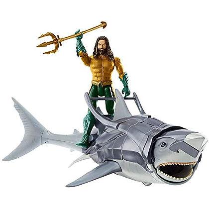 Aquaman Y El Tiburón Guerrero