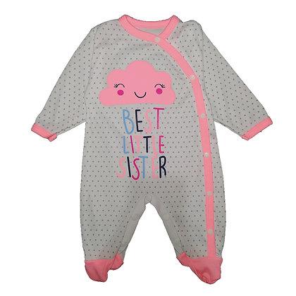 Pijama Nube Sueñitos Rosado Fluorescente