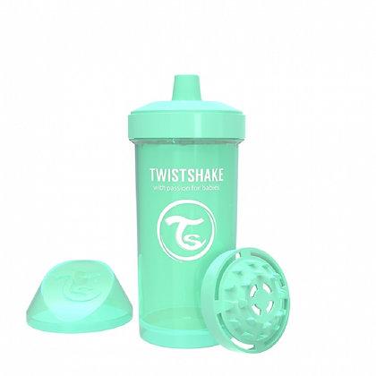 Vaso Entrenador 12oz 12m+ Twistshake Verde